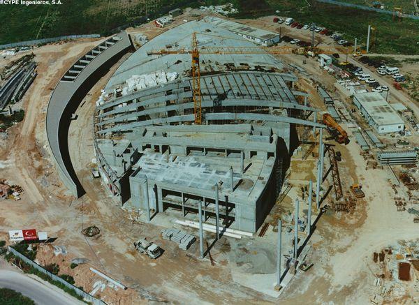 Palacio de congresos de valencia 1994 1998 f g arquitecta valencia - Empresas de construccion valencia ...
