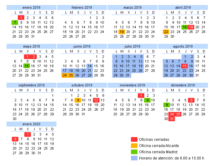 Calendario Laboral 2020 Sevilla.Telefonos De Contacto Horario Y Calendario Laboral De Cype Ingenieros